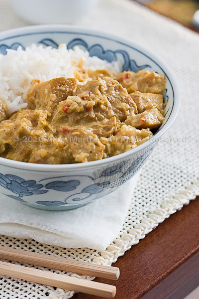 Curry di seitan rapido