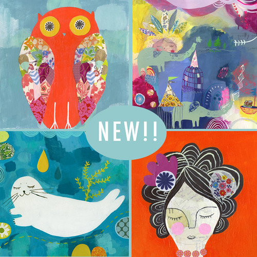 new prints in my shoppe!