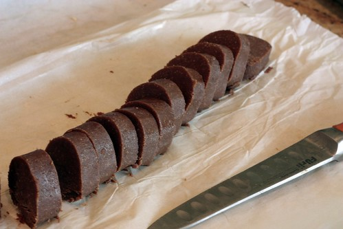 Chocolate Hazelnut Sandie Sliced Log