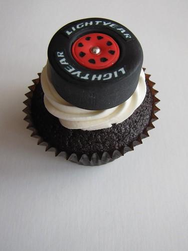 Race Car Tire Cupcake