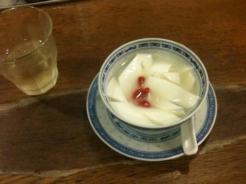 揚州商人の杏仁豆腐