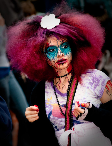 Prettiest Zombie i have ever seen!