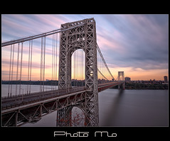 GWB (Mike Orso) Tags: bridge sunset george washington long exposure fort nj filter lee gw hdr gwb bw110