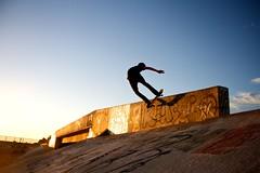 Ride (StudioNick) Tags: sunset arizona wall canon rebel canal ride cole nick skate xs martinez grind boarding shred sturman