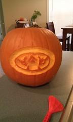 Auburn pumpkin