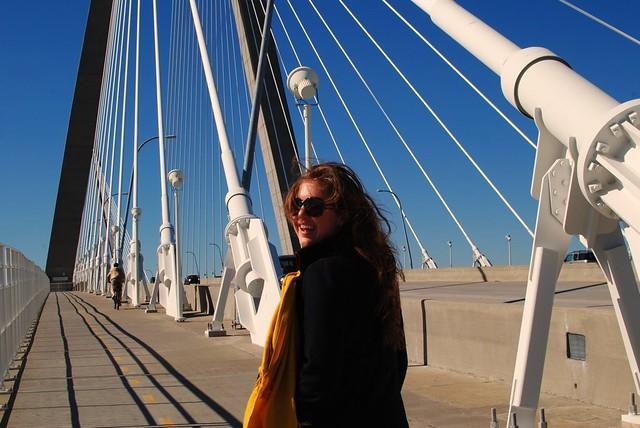 melissa on the bridge