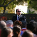 President Rush Speaks at University Student Union Ground Breaking