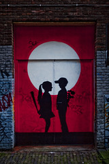 Amsterdam - Streetart - FAKE (Stewart Leiwakabessy) Tags: street streetart color colour art netherlands colors amsterdam stencil artist colours nederland thenetherlands fake stewart leiwakabessy stewartleiwakabessy