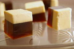 Coffee & Baileys Jello Cubes (Thorsten (TK)) Tags: food brown coffee closeup dessert beige dof sweet bokeh depthoffield cube treat cubes jello alcoholic baileys styling stylish foodphotography glassplate foodpresentation foodmacro jellocubes foodstyling realfoodgallery thorstenkraska