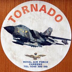 TORNADO (Leo Reynolds) Tags: sign canon eos 50mm sticker iso400 squaredcircle f11 30d 0ev hpexif 0017sec xsquarex sqset020 xleol30x xxx2007xxx xratio1x1x
