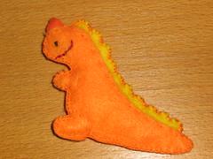 Ref.191 Pregadeira dinossauro