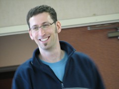 Photo of Mark Blevis at PAB2007 by Andrea Ross