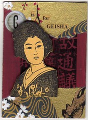 G is for geisha