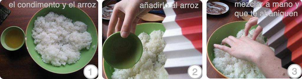 C�mo se condimente el arroz