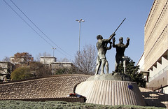 The miners' monument