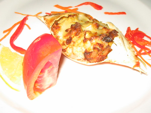 Stuffed Crab Appetizer Thing at Le Gourmet