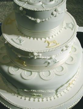 Wedding cake for Aya 1