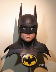 I'm Batman! (Keaton) 1:1 Bust (Lelê. : )) Tags: sculpture paint howard 11 bust cast batman collectibles keaton realistic senft