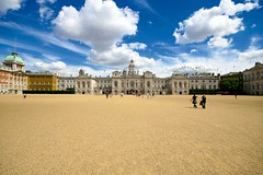 Horse Guards, Whitehall (Barry McGrath) Tags: city uk horse london clouds canon eos britain united kingdom images getty guards whitehall 30d canoneos30d instantfav colorphotoaward colourphotoaward sigma1020mmf456hsm barrymcg bazzymcg londonenglandcity
