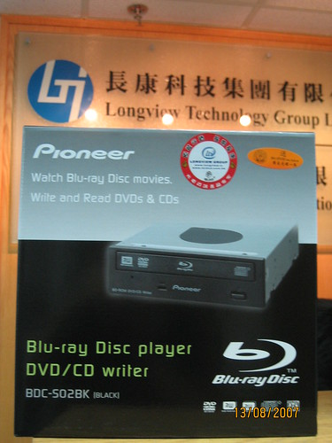 Pioneer dvdrw dvr k15