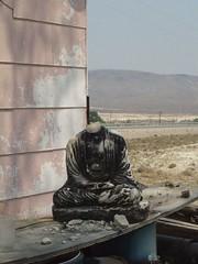 Brothel Buddha - Nevada (ashabot) Tags: abandoned desert buddha nevada tonopah area51 brothels