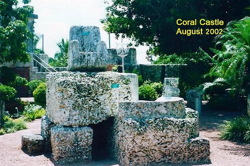 Coral Castle, August 2002 040
