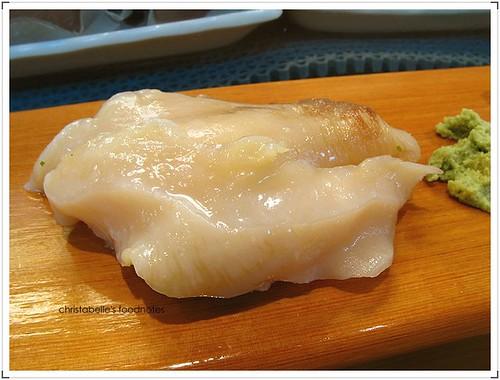 阿吉師象拔蚌握壽司
