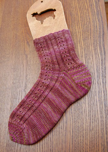 Double Eyelet Socks