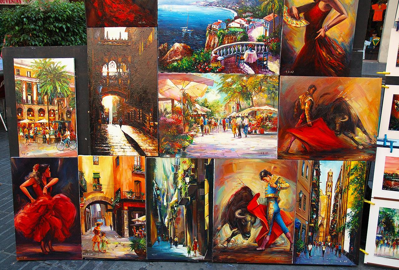 коллаж с картинками виды искусств