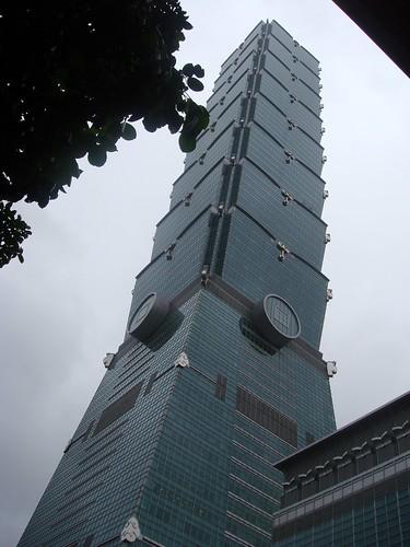 The world tallest building, Taipei 101