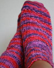 elegant ribbed socks1