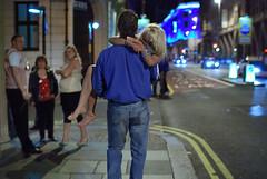(griff le riff) Tags: street city uk night nikon f14 candid leeds parkrow streetphotography sigma barefeet nightlife lsp 30mm ls1 d40x leedsbynight lbn40
