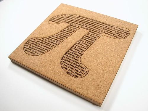 Pi (squared) trivet - 9