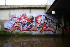 Herz with Lucky Luke 2009 (Herzoleum) Tags: abandoned wall writing painting underground graffiti paint flood letters basement demolition urbanexploration styles mta nes piece herz 2009 cellar kelder mvp waterreflection luckyluke otb graffitiwall tpa herzo colorpiece graffitiamsterdam xts oldschoolstyle herz1 nescrew mtacrew umxs madtransitartists oldschoolstijl ibmuithoorn mvpwall herzone crosstownstatic