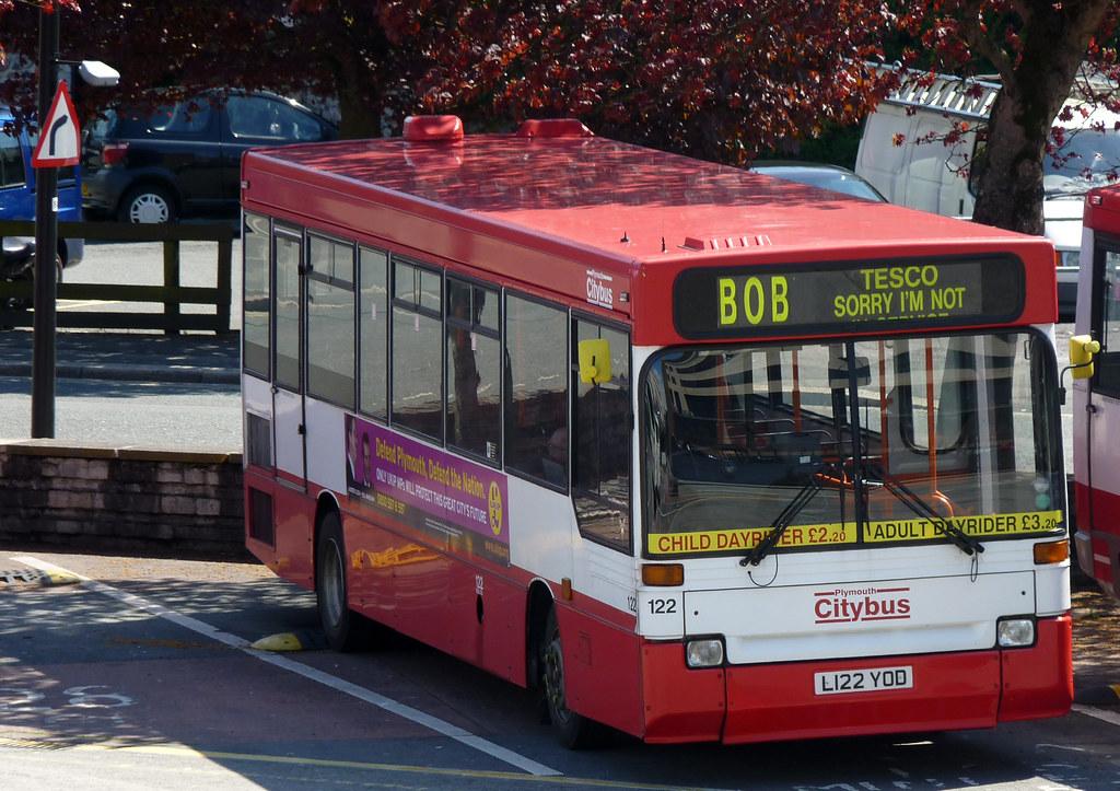 Plymouth citybuys 122 L122YOD