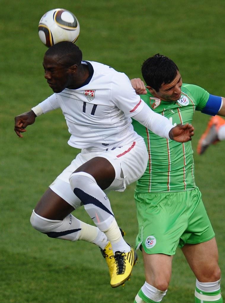Estados Unidos Argelia Mundial Fútbol Sudáfrica