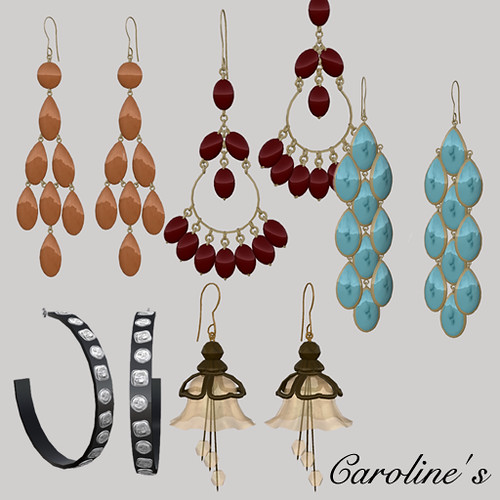 Caroline's Gatcha Earrings