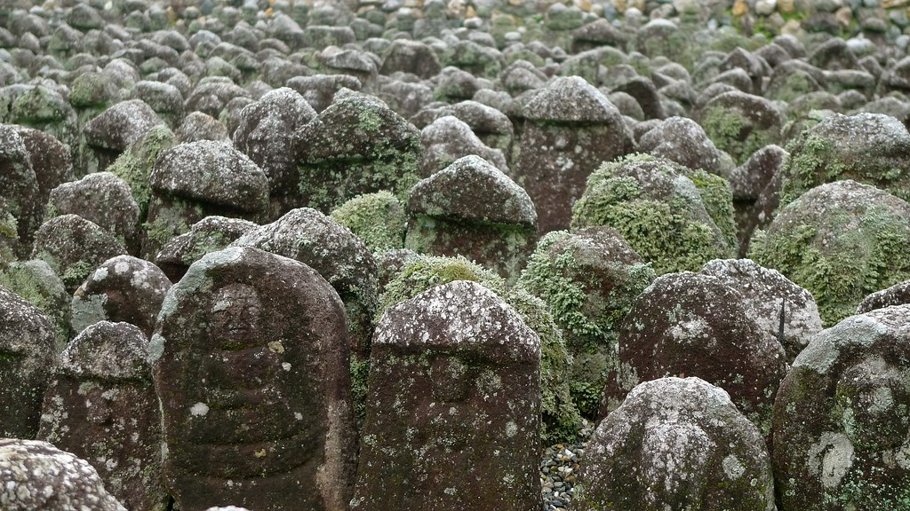 Moss Covered Buddhas