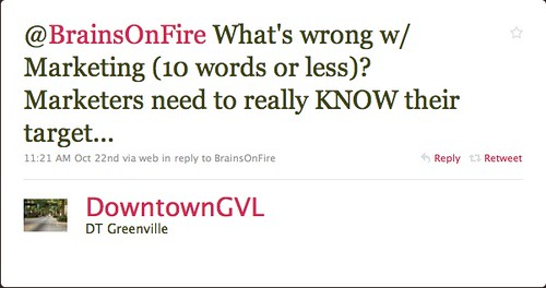 downtowngvl: What's wrong with marketing?