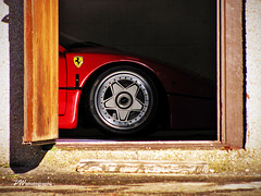 F40 *Explore* (PWphotography) Tags: wheel speed scotland 1987 fast icon ferrari badge 1980s mph supercar tyre supercars f40 fastcar ferrarif40 200mph hypercar hypercars 1989ferrari