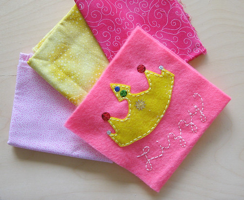 Picking fabrics--front