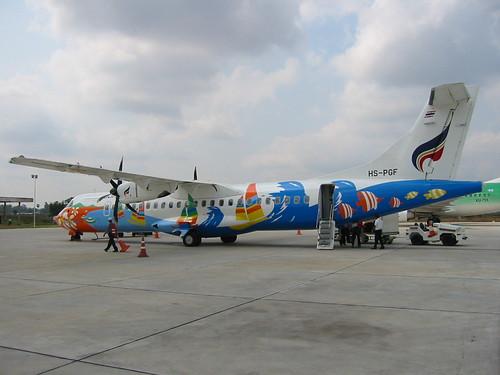 """Hua Hin"" Bangkok Air ATR-72, Siem Reap"