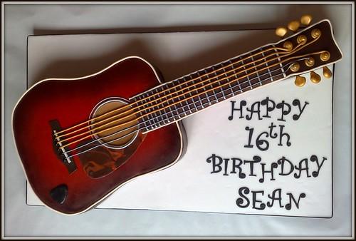 Guitar Cake #2