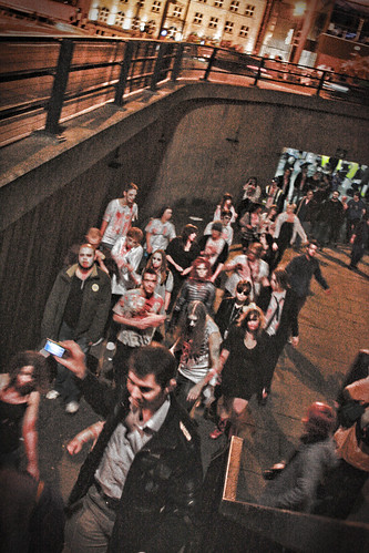 Newcastle Zombie Walk