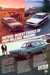 1980 Datsun Ad (dave_7) Tags: car wagon ad 510 1980 datsun stationwagon 210 810 datsun210