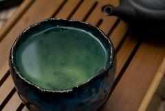 Full (debunix) Tags: blue tea yunomi hagi seigan