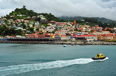 A Sunday Morning in Grenada (Jeff Clow) Tags: cruise vacation port island harbor colorful getaway grenada caribbean serene stgeorgesgrenada gapr