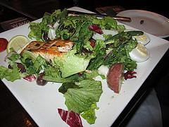 Mill Street Brewpub's salmon nicoise salad