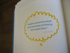 TEDMED Pioneer Book: Problems Thought Balloon (AK)