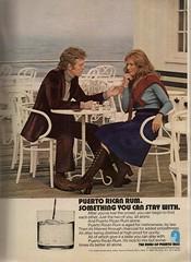 Puerto Rican Rum (glen.h) Tags: men vintage magazine women liquor 70s booze playboy rum 1970s seventies puertorican advertisments